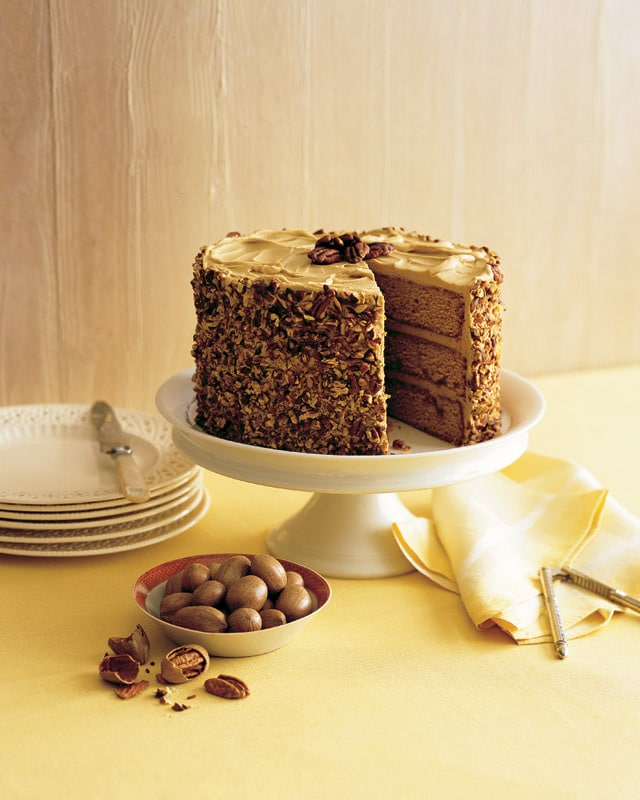 Butterscotch-Pecan Cake Recipe — Dishmaps
