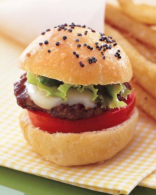 bite-size cheeseburgers martha