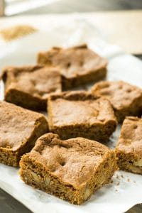 Receita de Blondies