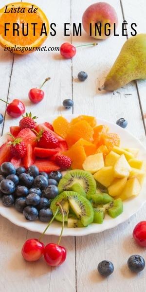 Lista de Frutas em Inglês   Inglês Gourmet