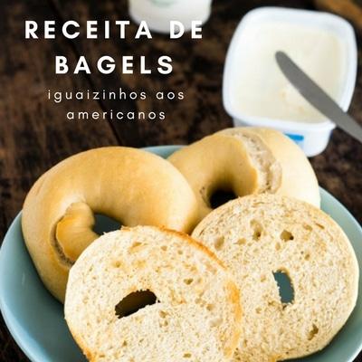 Receita de Bagels   Inglês Gourmet