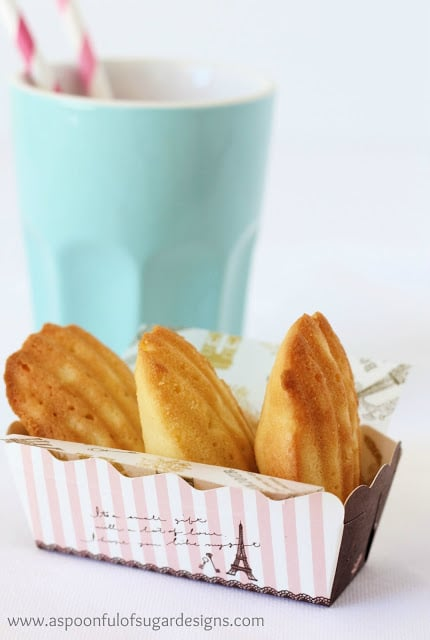 Brown Butter and Coconut Madeleines aspoonfullofsugar