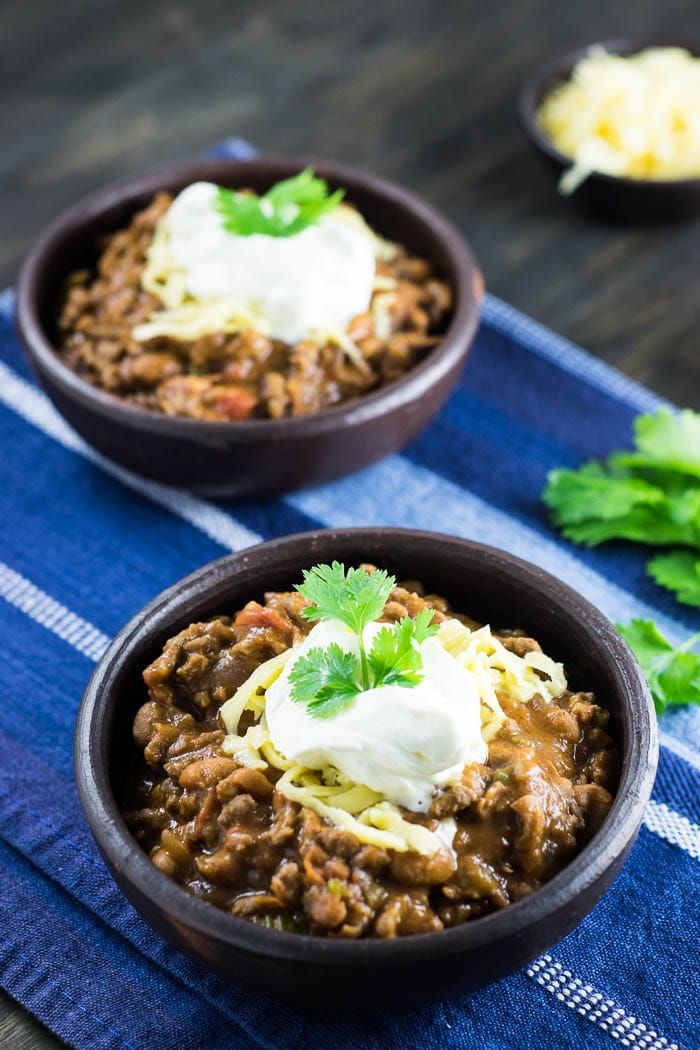 Receita de Chili {Chili con Carne} | Inglês Gourmet