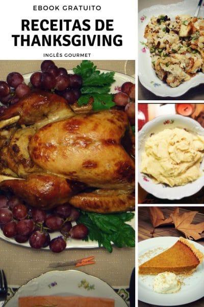 Ebook gratuito com Receitas de Thanksging - Ação de Graças   Inglês Gourmet