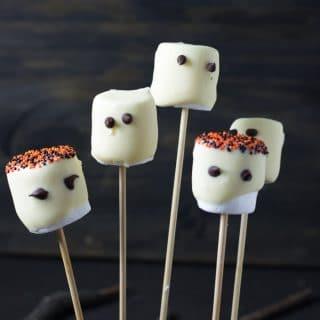 Receita de Halloween: Fantasminhas de Marshmallow   Inglês Gourmet