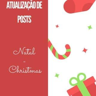 Atualização de Posts: Natal - Christmas   Inglês Gourmet