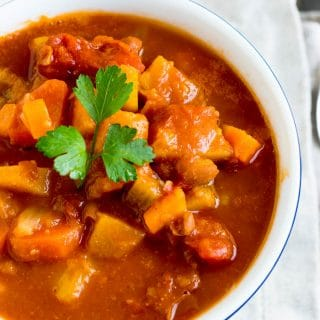 Chili de Legumes {Vegetable Chili}   Inglês Gourmet