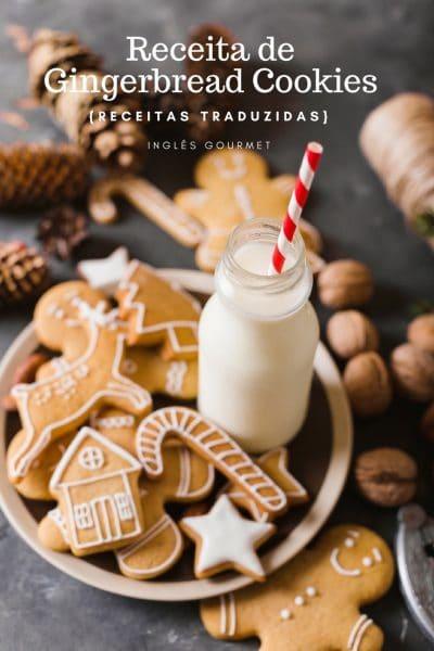 Receita de Gingerbread Cookies {Receitas Traduzidas}   Inglês Gourmet