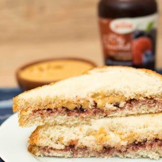 Peanut Butter & Jelly Sandwich   Inglês Gourmet