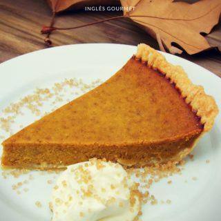 Receita de Pumpkin Pie   Inglês Gourmet