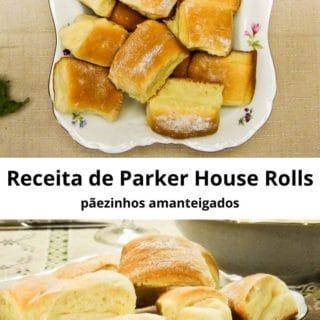 Receita de Parker House Rolls – pãezinhos amanteigados | Inglês Gourmet