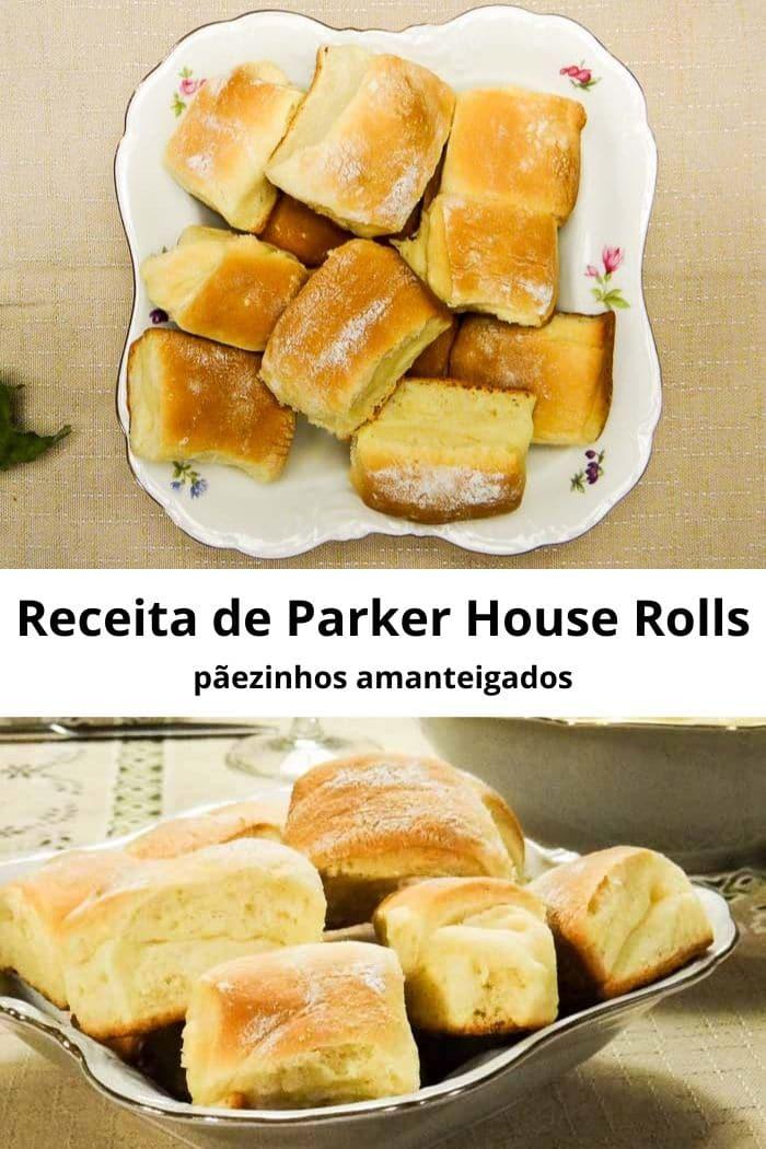 Receita de Parker House Rolls – pãezinhos amanteigados   Inglês Gourmet