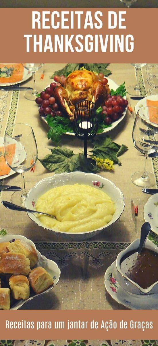 Receitas de Thanksgiving - Receitas para um jantar de Ação de Graças   Inglês Gourmet