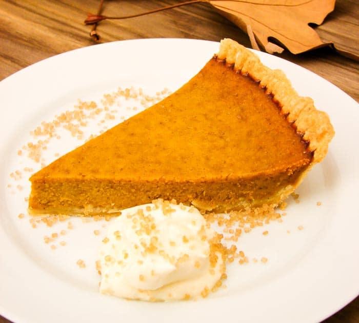 torta de abóbora - pumpkin pie