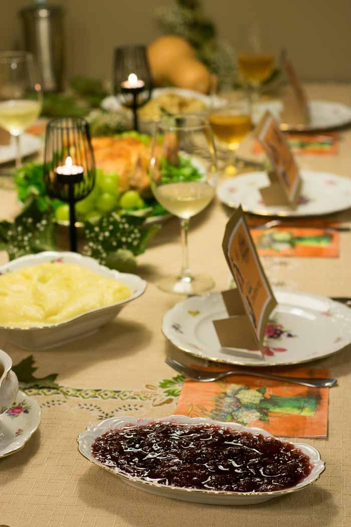 Jantar de Thanksgiving