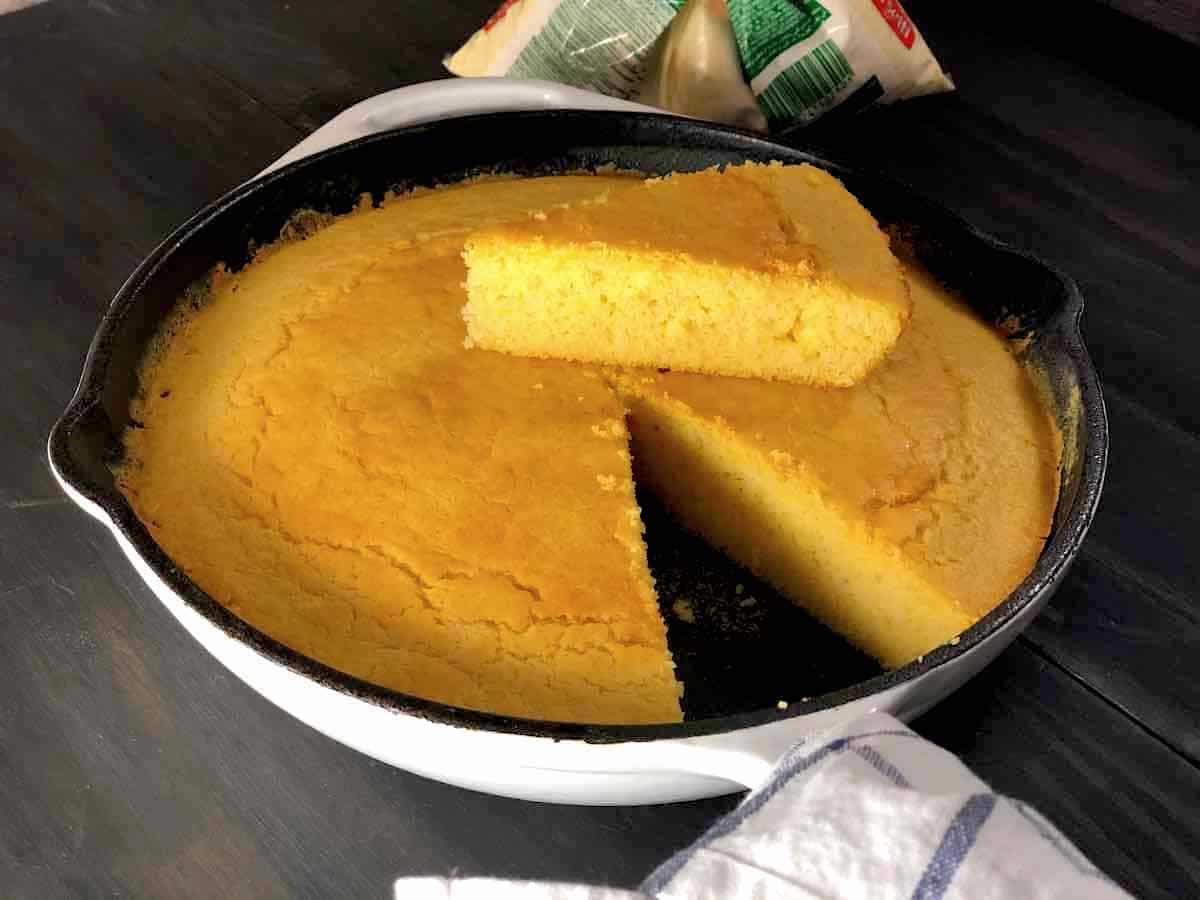 como fazer cornbread
